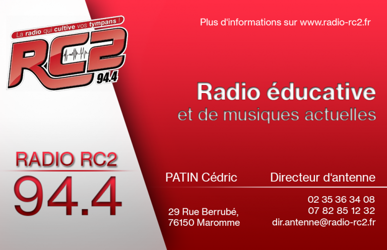 Cartes De Visite Radio RC2